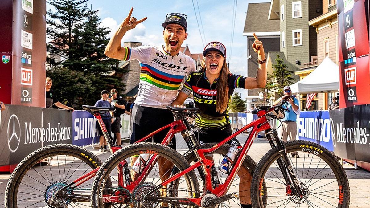 Nino Shurter e Courtney