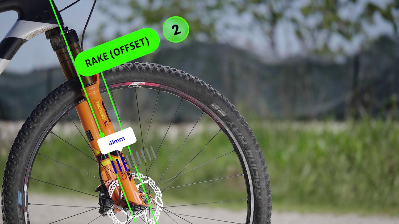 rake offset